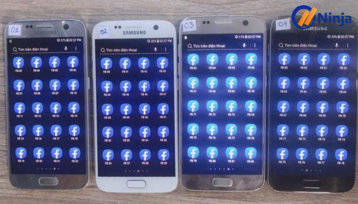 Phần mềm nuôi nick trên điện thoại- Ninja Phone