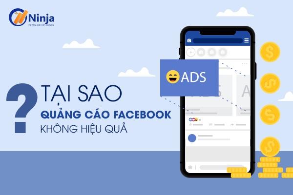 Nguyên nhân quảng cáo facebook không hiệu quả?