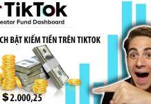 Cách bật kiếm tiền trên Tiktok Việt Nam